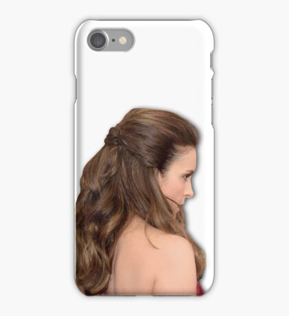 tina fey transparent iPhone Case/Skin