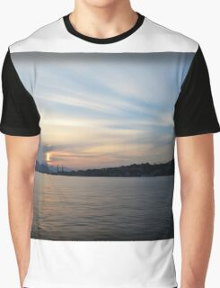 Alcudian Sunset Graphic T-Shirt