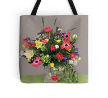 Multi-Colored Arrangement Tote Bag