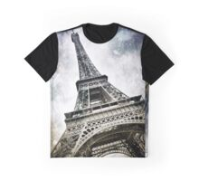 Modern-Art PARIS Eiffel Tower Splashes Graphic T-Shirt