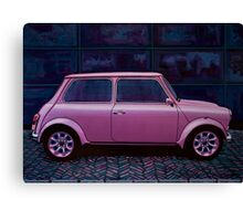 Austin Mini Cooper Painting Canvas Print