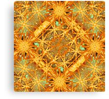Digital Abstract Geometric Collage Canvas Print