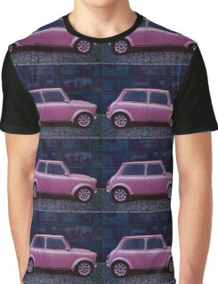 Austin Mini Cooper Painting Graphic T-Shirt