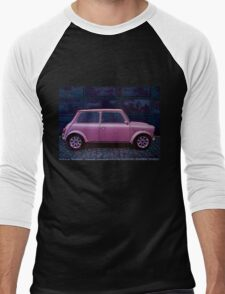 Austin Mini Cooper Painting Men's Baseball ¾ T-Shirt