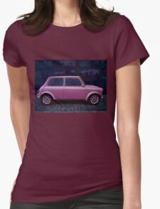 Austin Mini Cooper Painting Womens Fitted T-Shirt