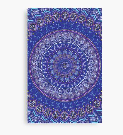Taíno Mandala Canvas Print