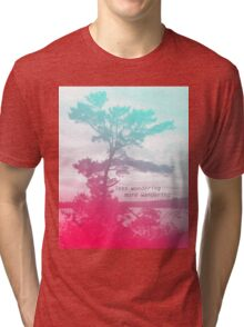Wandering Tree Tri-blend T-Shirt