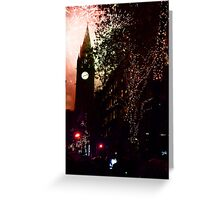 Manchester Lights Greeting Card