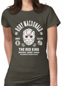 Rory Macdonald The Red King Womens Fitted T-Shirt