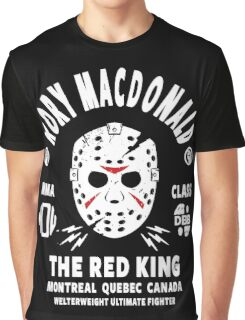 Rory Macdonald The Red King Graphic T-Shirt