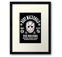 Rory Macdonald The Red King Framed Print