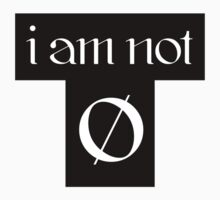 I am not average - Black T One Piece - Short Sleeve