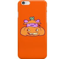 Halloween Pumpkin Pig iPhone Case/Skin