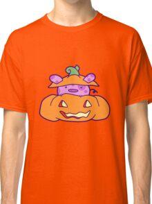 Halloween Pumpkin Pig Classic T-Shirt