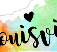 Louisville Sticker