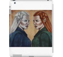 The Hobbit- Silver & Silvan Tauriel iPad Case/Skin