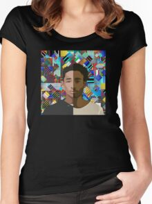 Childish Gambino X Jaden Smith Women's Fitted Scoop T-Shirt