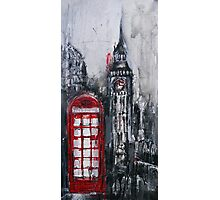 London Red Phone Box Photographic Print
