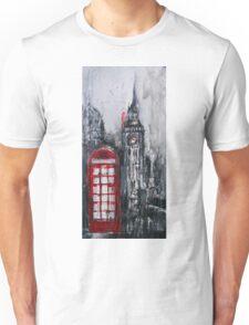 London Red Phone Box Unisex T-Shirt