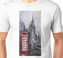 London Red Phone Box Unisex T-Shirt