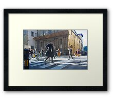 Florence, Italy Street Framed Print