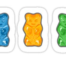 Rainbow Gummy Bears Sticker