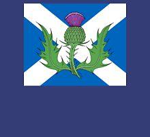 Scottish Thistle & Saltire Unisex T-Shirt