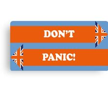 Dad's Army –Don't Panic! Canvas Print