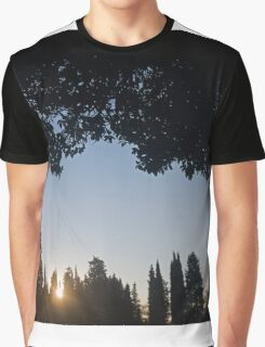 Italian Sunset Graphic T-Shirt
