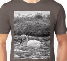 BW Trumpeter Swan Unisex T-Shirt