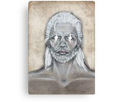 The Elders Scrolls- Skyrim- Nord Man Canvas Print