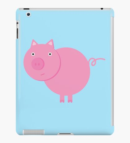 Mr. Piggy iPad Case/Skin
