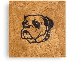 Tough Dog Canvas Print
