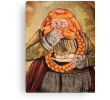 The Hobbit- Bombur Dwarf Canvas Print