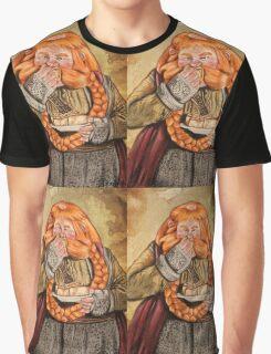 The Hobbit- Bombur Dwarf Graphic T-Shirt