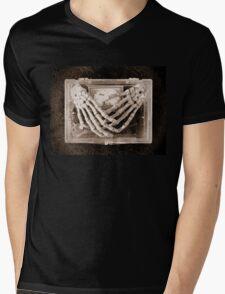 Gothic Forget me knot Mens V-Neck T-Shirt
