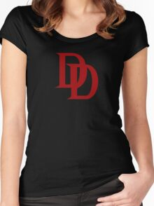 The Devil of Hells Kitchen Women's Fitted Scoop T-Shirt