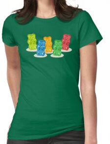 Gummy Bears Gang Womens Fitted T-Shirt