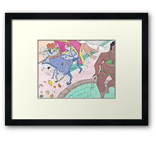 cosmo funpark Framed Print