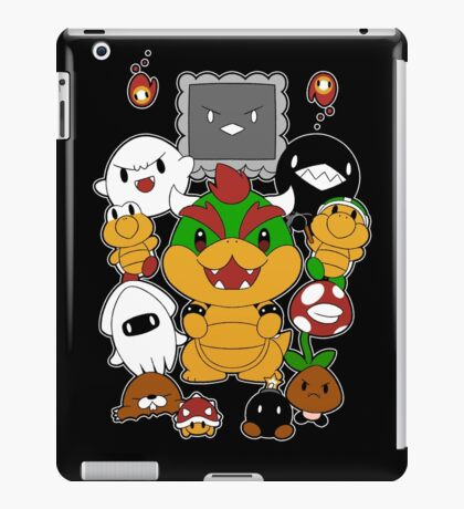 [Super Mario] Baddies! iPad Case/Skin