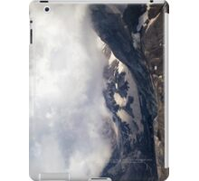 Mount St Helens lava dome 2 iPad Case/Skin