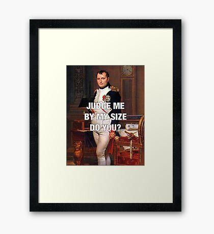 Napoleon x Star Wars Framed Print