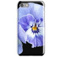 Pansy flowers iPhone Case/Skin