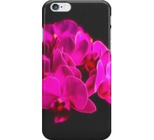 Photo art pink orchid iPhone Case/Skin