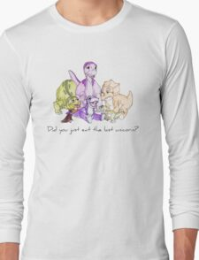 The Land Before Time: The Last Unicorn Long Sleeve T-Shirt