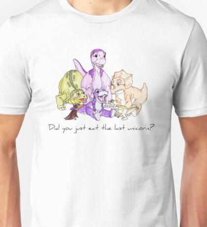 The Land Before Time: The Last Unicorn Unisex T-Shirt