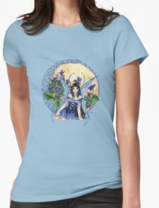 Celtic Violet Fairy t shirt Womens Fitted T-Shirt