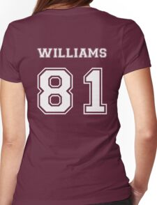 Jesse Williams '81 Womens Fitted T-Shirt