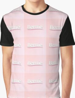 pink bernie Graphic T-Shirt
