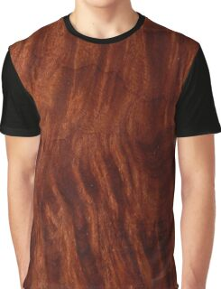 Beautiful Unique mahogany red wood veneer design Graphic T-Shirt